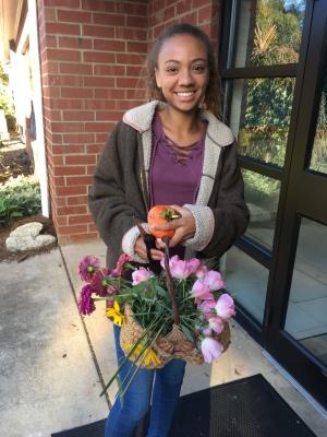 Harvesting Flowers for the Market